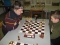 6. turnaj O pohár vítěz Roman Vincze v partii s Rudou Junem 8.1.2016